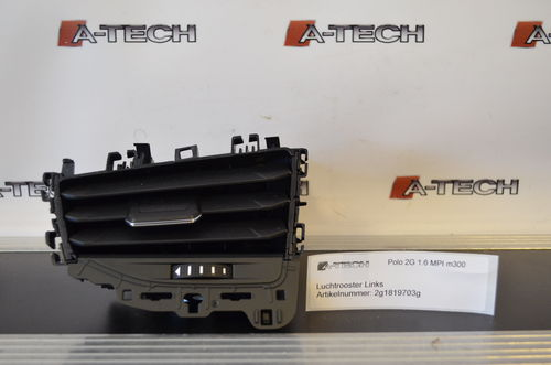 Luchtrooster links Volkswagen Polo ('18->) 2g1819703g m300