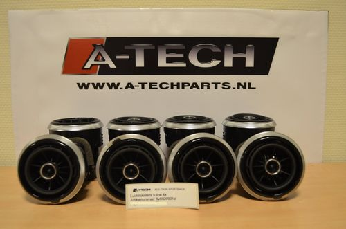 Luchtroosters A3 8V S-line 8v0820901a m207